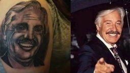 Se tatuó a Alberto Fernández pero no le quedó como esperaba